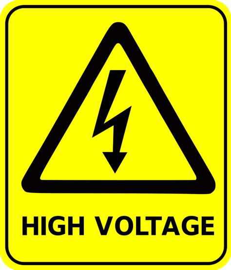 high voltage safety safety sign high voltage signs symbol safety signs