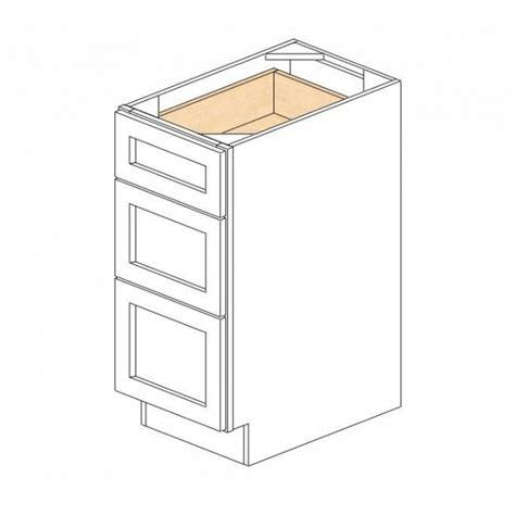 3 drawer base cabinet white db15 3 gramercy white drawer base cabinet kitchen cabinets