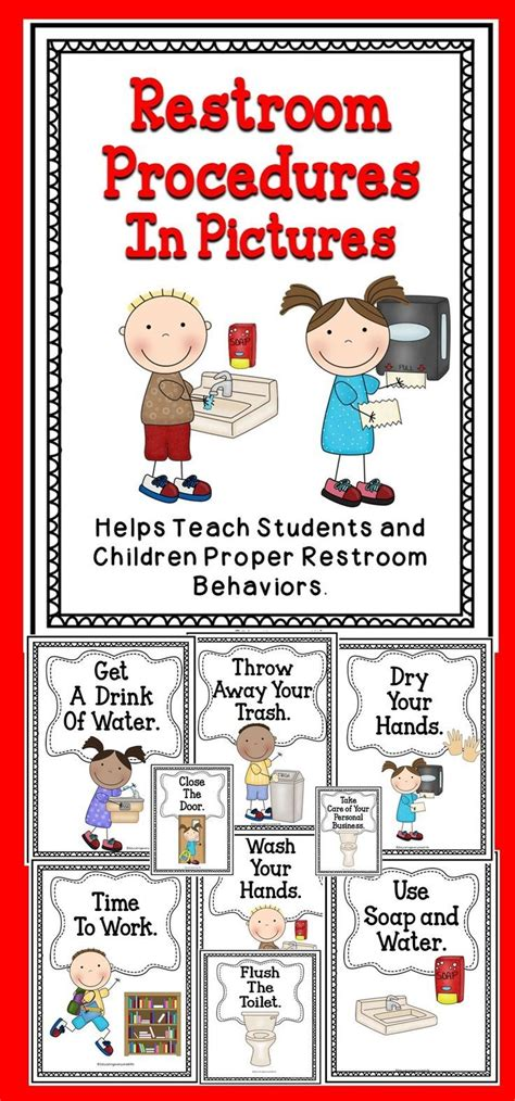 classroom bathroom procedures 11474 best tried and true for the classroom images on