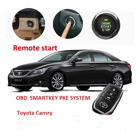 Toyota Camry Remote Start Obd One Way Sartkey Keyless Entry System Push Button