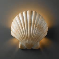 Shell Wall Sconce Justice Design Cer 3730 Ambiance Collection Fluorescent Scallop Shell Wall Sconce