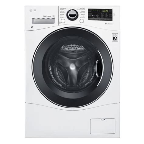front load washer fan lg electronics 2 3 cu ft all in one front load washer