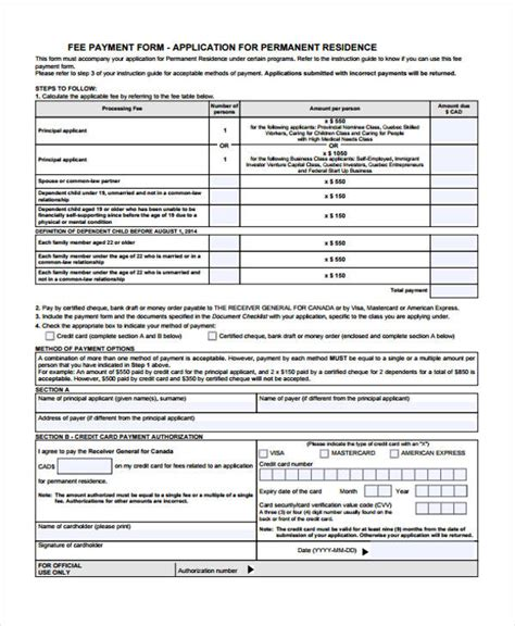 application fee receipt template printable receipt forms 41 free documents in word pdf