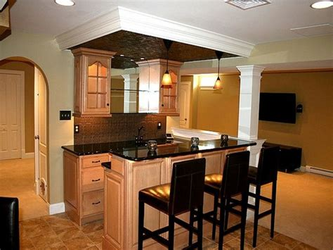 kitchen in the basement 25 best ideas about small basement bars on