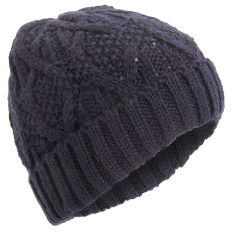 mens knit hats mens classic cable knit winter beanie hat ebay