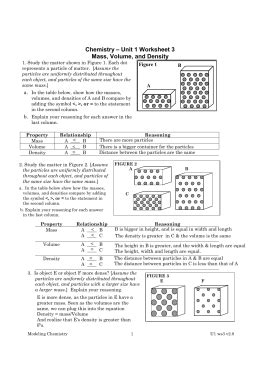Unit 1 Worksheet 4 Applied Density Problems Answers by Chemistry Unit 1 Worksheet 3 Resultinfos