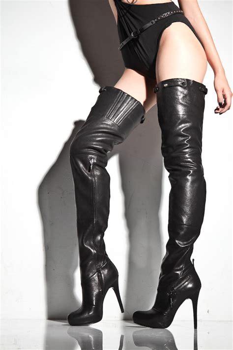 thigh high leather boots boots costume pic thigh high boots leather