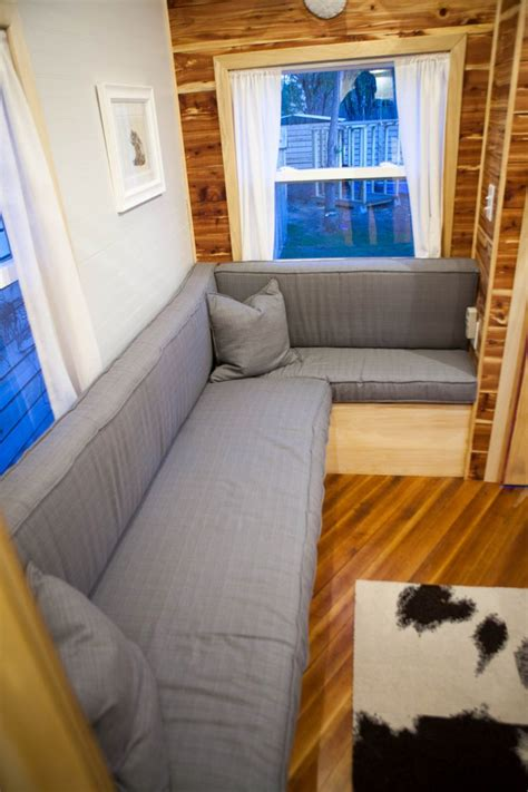 couch homes jamisons tiny house 8 this would make a great cabin