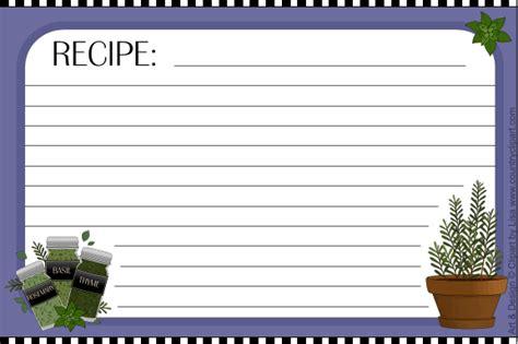 printable recipe cardscountry clipart  lisa