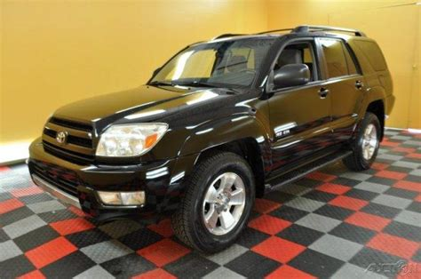 04 Toyota 4runner 04 Toyota 4runner Suv Black Moon Roof Towing 4x4