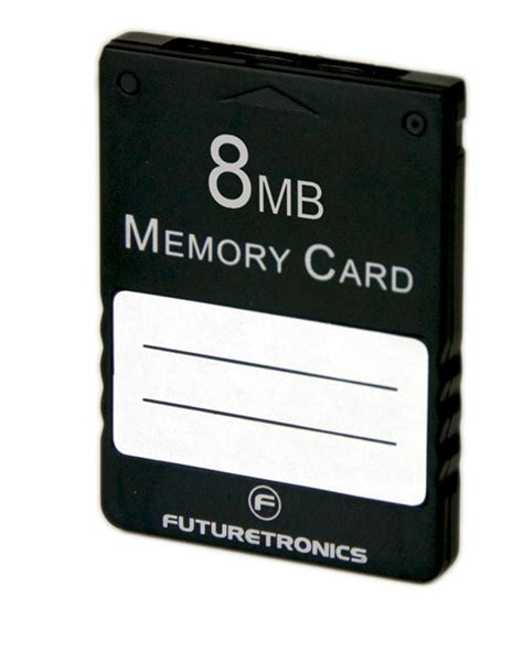 Memory Card Mc Ps2 8mb Hitam 8mb memory card by futuretronics futuretronics
