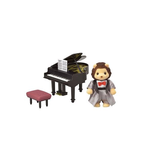 Sylvanian Families Piano Resital Dress sylvanian families grand piano concert set toyworld