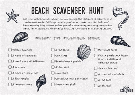 idea hunt cool scavenger hunt ideas your kids will love cool of