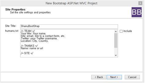 asp net mvc 4 bootstrap layout template asp customizing asp net mvc bootstrap templates