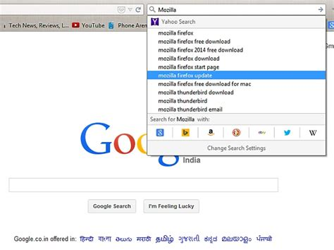 latest gadgets movie search engine at search com firefox 34 launched for android linux mac windows
