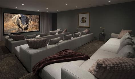 modern home theater exquisite hollywood mansion captures the picturesque views