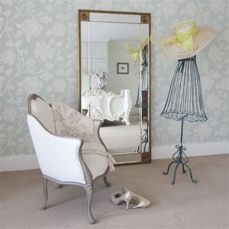 full length mirror bevelled gold full length mirror by decorative mirrors