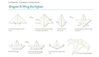 How To Make A Origami Wars Ship - wars the emerges from paper moleskine