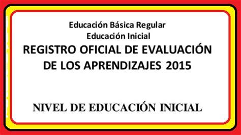 nombramiento de auxiliar de educacion 2016 jmoilcocom registro auxiliar de evaluacion inicial 5 a 241 os
