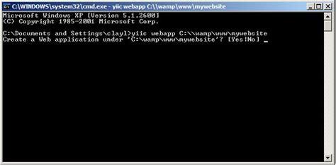 yii mysql tutorial image tutorial how to setup yii framework on wamp using