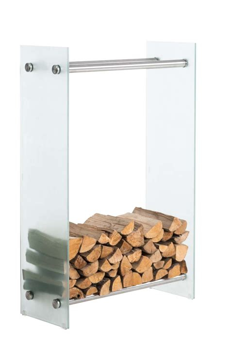 firewood holder firewood rack dacio log holder safety glass wood rack