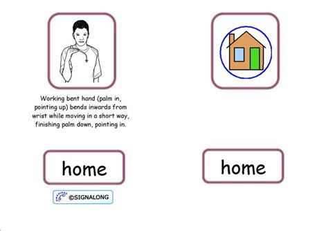 78 best images about speech therapy signalong basic signs