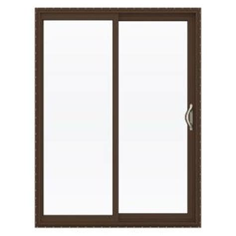 Home Depot Sliding Glass Patio Doors Jeld Wen 60 In X 80 In V 2500 Series Vinyl Sliding Low E Glass Patio Door Thdjw181500158 The