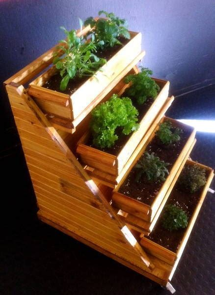 herb boxes herb box room outside pinterest