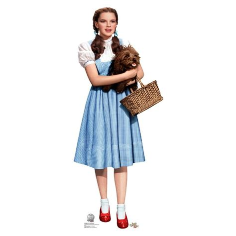 dorothy of oz wizard of oz dorothy holding toto standup