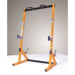 powertec fitness half rack olympic weight multi press