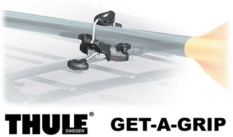How To Attach Skis To Roof Rack by Thule 839 Get A Grip Mast Oar And Paddle Holder