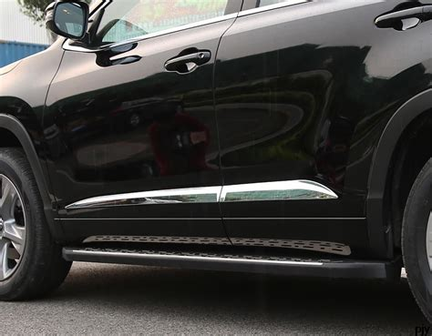 2017 Toyota Highlander Side Molding Installation by High Quality Abs Chrome Scratch Side Door Molding