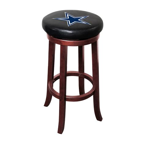 bar stools dallas tx dallas cowboys wood bar stool