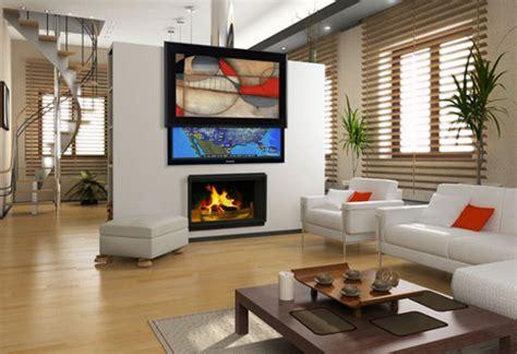tv in the middle of the living room jak v interi 233 ru stylově schovat televizi styl a interier
