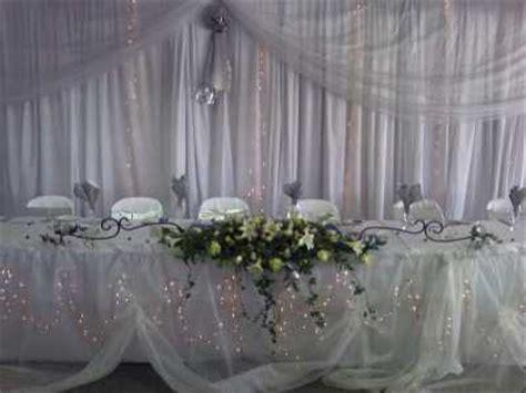 draping creations executive weddings functions flowers wedding florist
