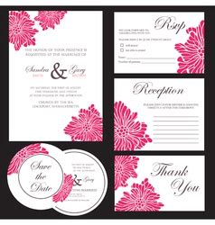 unique wedding cards bangalore wedding invitation blue set royalty free vector image