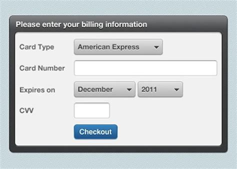 Credit Card Form Validation Jquery 30 Most Useful Jquery Plugins Web3mantra