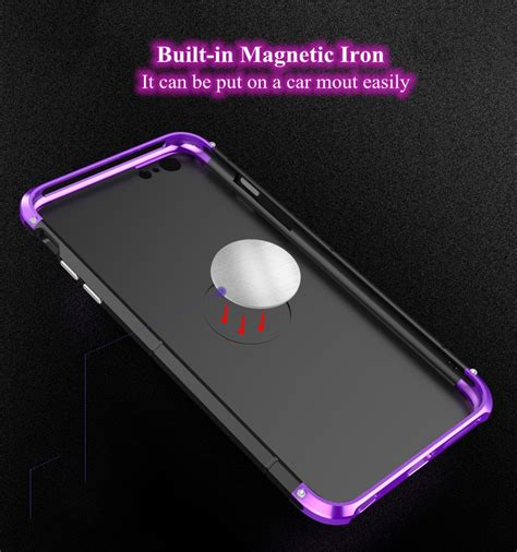 Bumper Hardcase For Iphone 6 1 3 in 1 metal bumper frame pc shell for iphone 6 6s 4 7 quot sale banggood