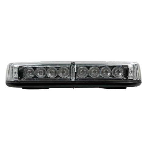 Led Warning Light Bars Blazer International Led Mini Warning Light Bar C4855caw The Home Depot