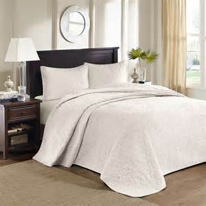 Oversized Coverlets King Size Bed Beautiful Oversized White Vintage Classic Texture