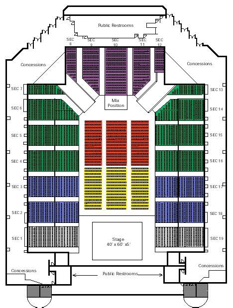 san jose event center map san jose state event center arena seating chart ticket