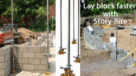 How To Lay A Foundation For A House by How To Lay A Masonry Block Foundation Fast