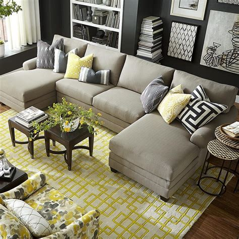 livingroom chaise living room double chaise sectional oversized sectional