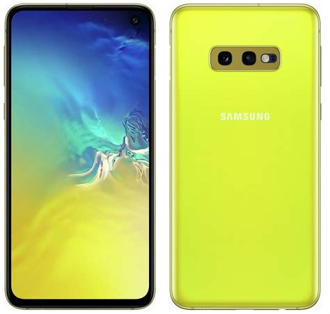 Samsung Galaxy S10 Yellow by Samsung Galaxy S10 Galaxy S10 Galaxy S10e Specs Pricing Availability And Features