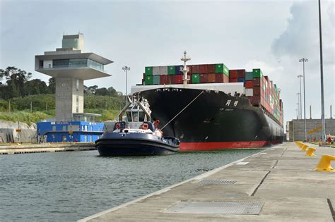 Panama Canal Records Panama Canal Sets Back To Back To Back Tonnage Records Gcaptain