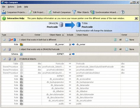 Sql Compare Two Tables by Ssw The Best 3rd Sql Server Tools
