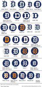 infographic the history of the detroit tigers d logo