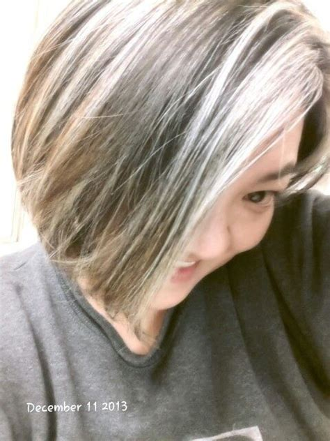 ash blond with grey highlights stand out with ash blonde highlights hairstyle ideas