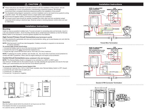 blue sea battery switch wiring diagram wiring diagram