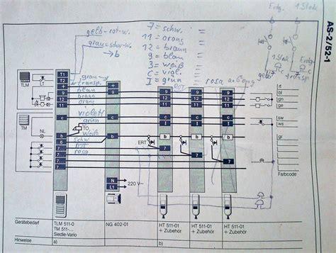 le installieren a b schnittstelle f 252 r t 252 rsprechanlage siedle 511